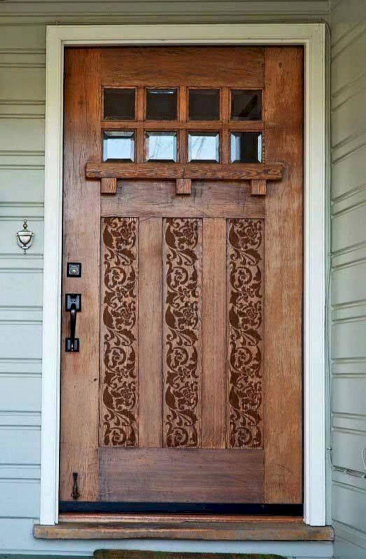 Front Door Stencil Designs