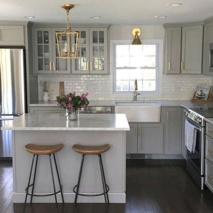Grey Kitchen Cabinets Ideas
