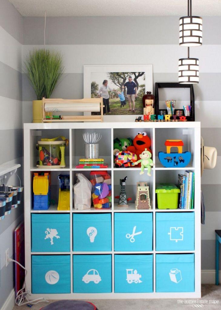 IKEA Toy Storage Shelves Ideas