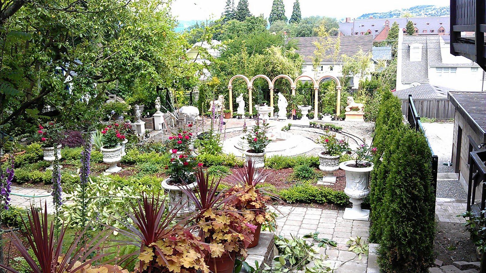 Italian Garden Design Idea