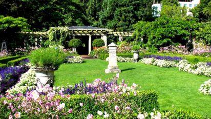 Italian Hatley Castle Garden