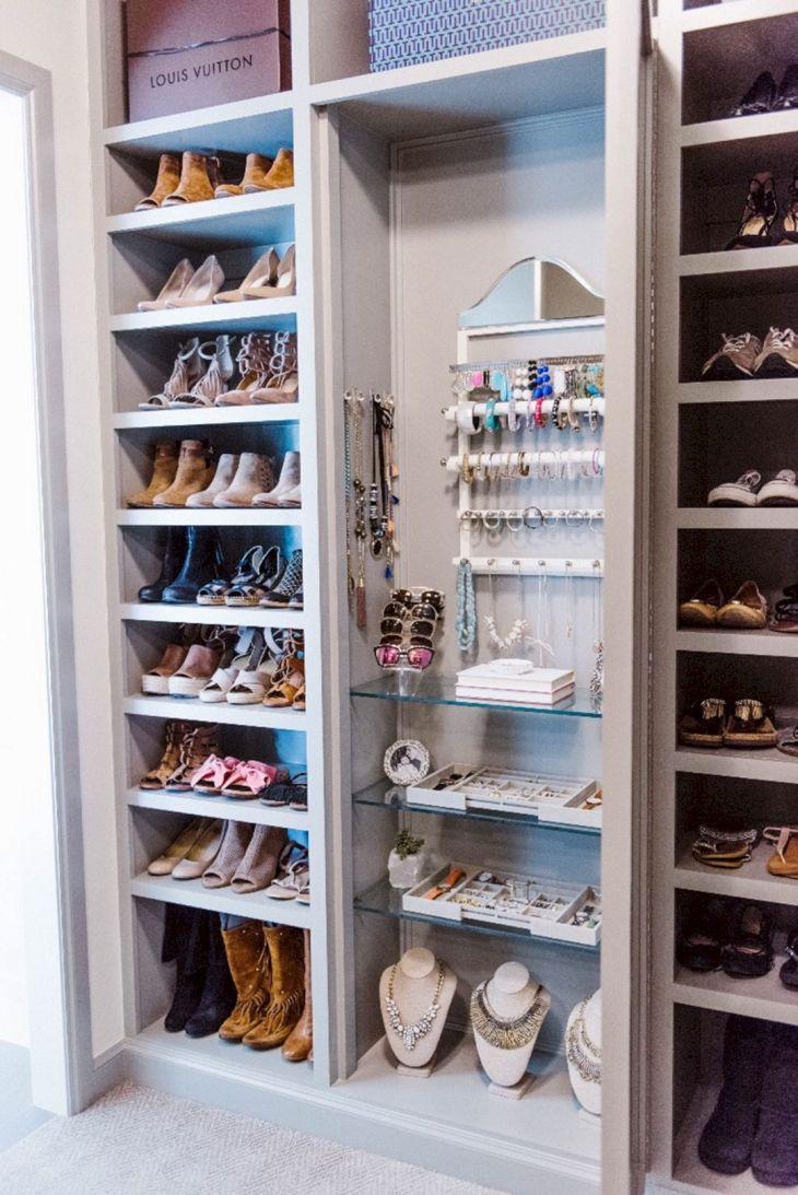 Master Closet Organization Idea