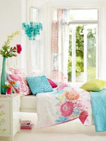Pretty Bright Colors Bedroom