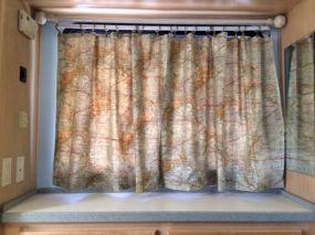 RV Curtains Motorhome