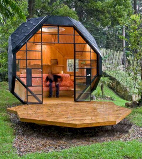 Small Backyard House