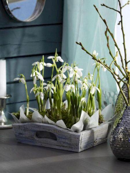 Spring Flower Arrangement Idea