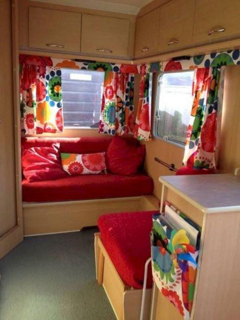Vintage Camper Curtain Ideas Design