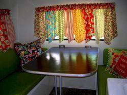 Vintage Camper Curtain Ideas