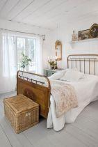 Vintage Rustic White Bedroom