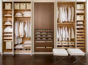 Wardrobe Open Closet Design