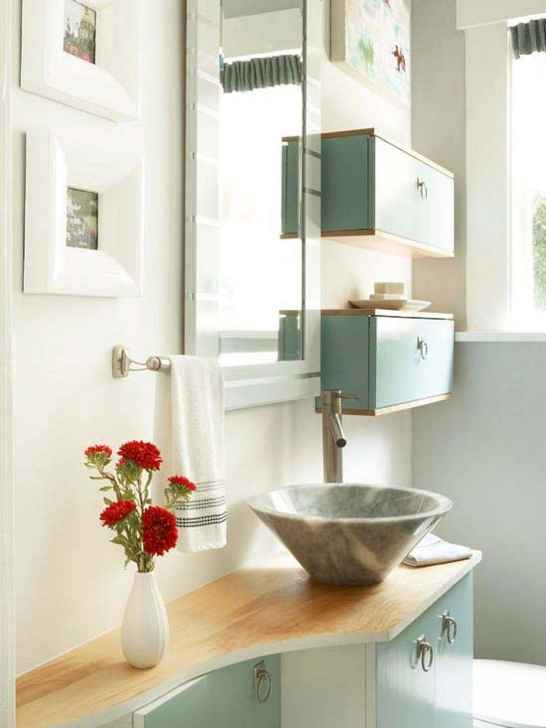 small bathroom storage