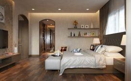 Bedroom Warm Interior Design Ideas