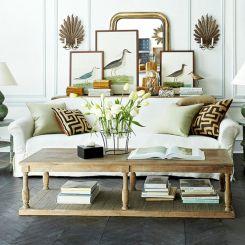 Coastal Rustic Living Room Furniture