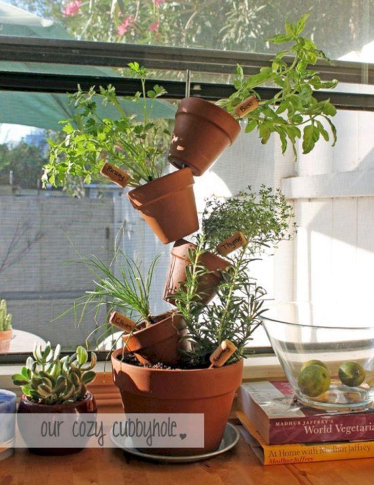 DIY Vertical Indoor Garden