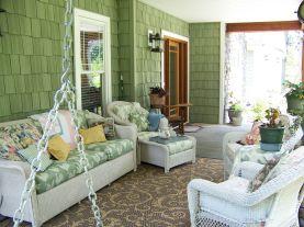 Front Porches Decorating Ideas