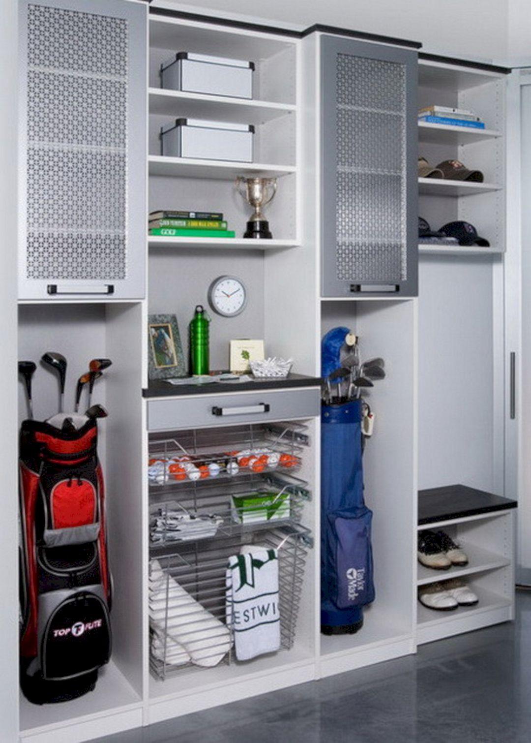 Golf Club Garage Storage Ideas
