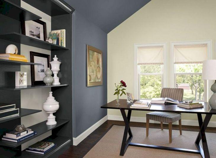 Home Office Paint Color Schemes