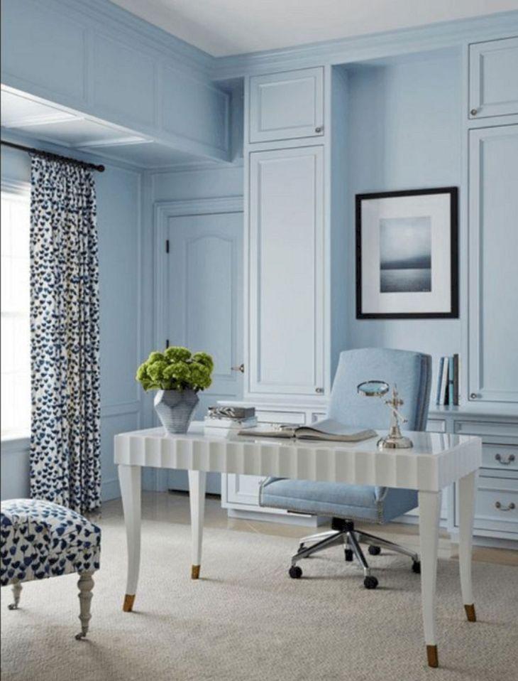 Home Office Paint Colors Blue