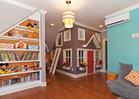 Kids Basement Playroom