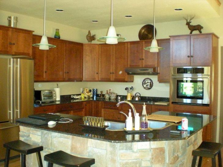 Kitchen Island with Sinks