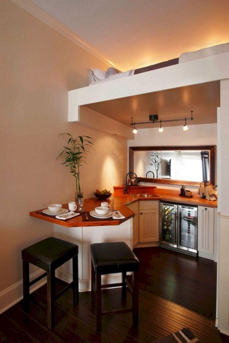 Loft Tiny House Kitchen