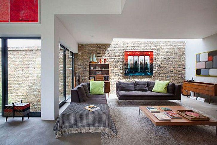 Modern Rustic Living Room Designs