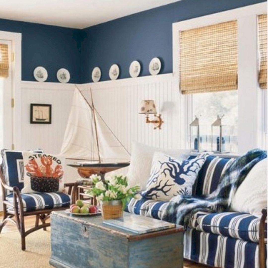 25 unique rustic coastal nautical living room ideas for amazing rh decoredo com nautical home decor living room Home Decor Living Room