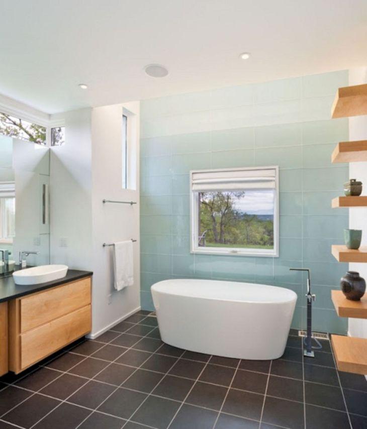 Ombre Bathroom Tile