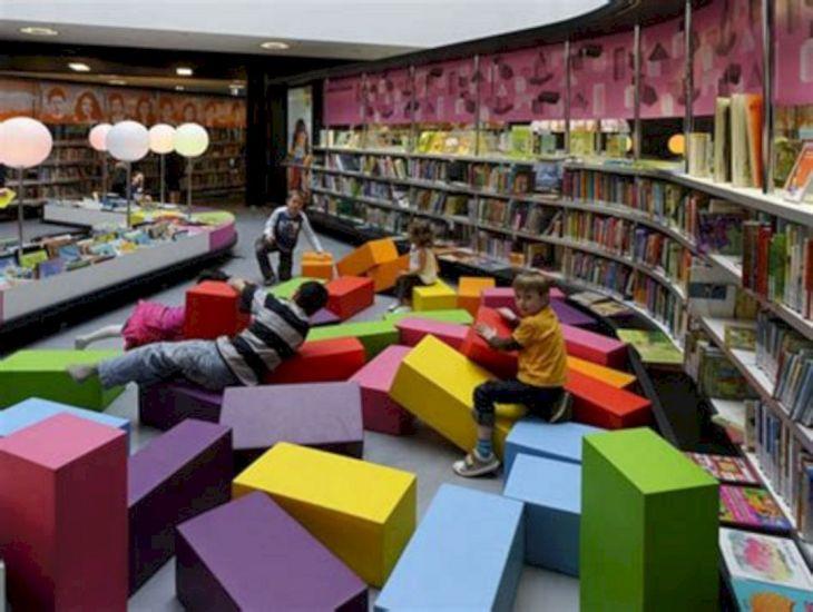 School Library Design Ideas