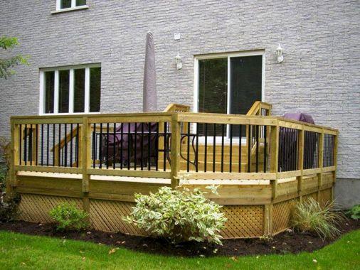 Backyard Deck Idea Patio Ideas