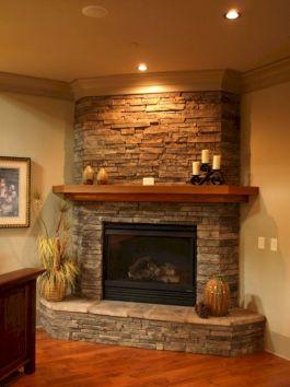 Beautiful Stone Fireplace