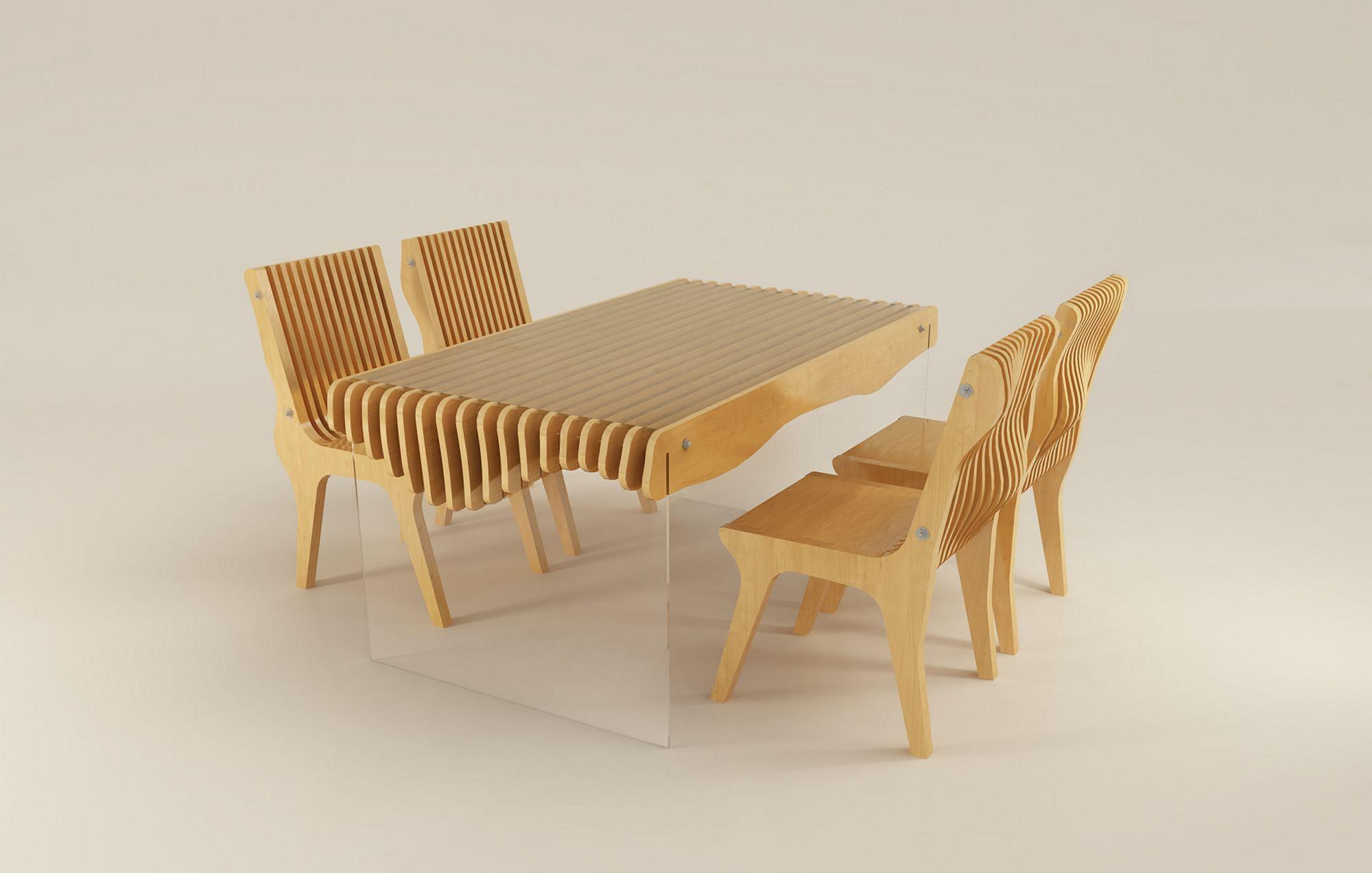 Cnc Plywood Chairs Design Ideas Decoredo