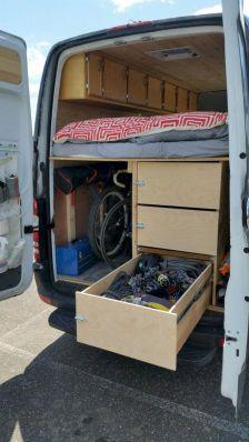 Camper Van Conversion Idea