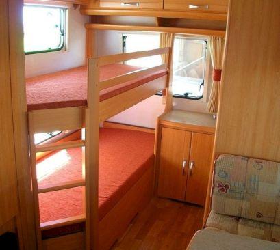 Caravan Bunk Beds