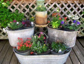Container Flower Garden Ideas Design