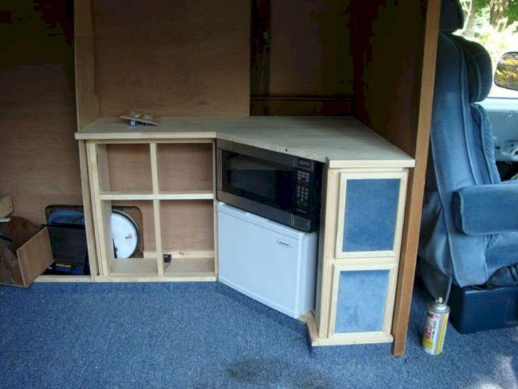 Conversion Interior DIY Camper Van
