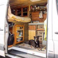 Conversion Interior Sprinter Van Camper Ideas
