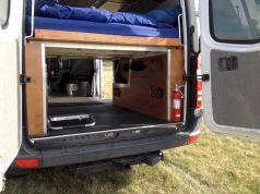 DIY Camper Van Bed Conversion