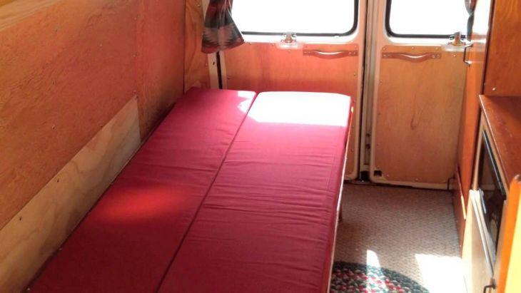 DIY Campesr Van Interior