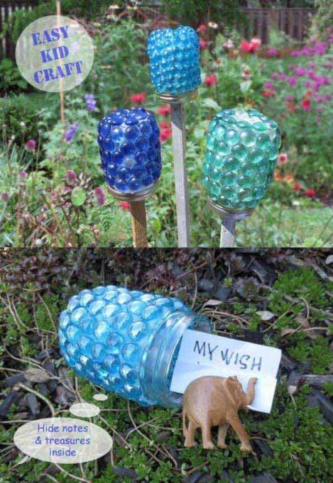 DIY Garden Art Craft Project
