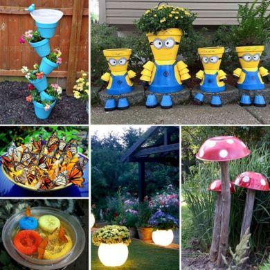 DIY Garden Craft Ideas
