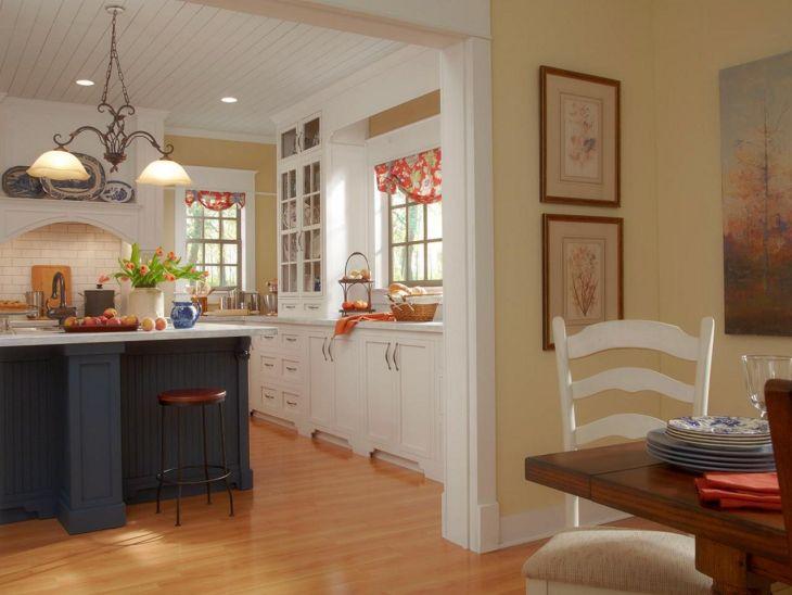 Farmhouse Kitchen Paint Color