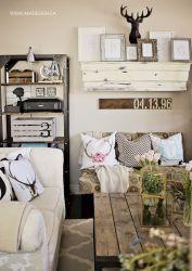 Farmhouse Living Room Decor DIY