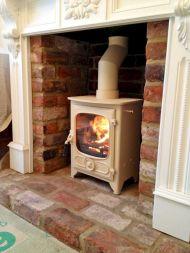 Fireplaces Wood Burning Stone