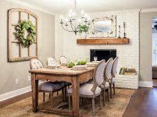 Fixer Upper HGTV Dining Room Ideas