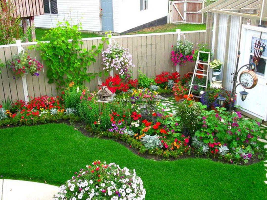 Flower Garden Designs For Small Backyards Decoredo