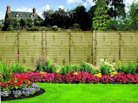 Flower Garden Fence Ideas