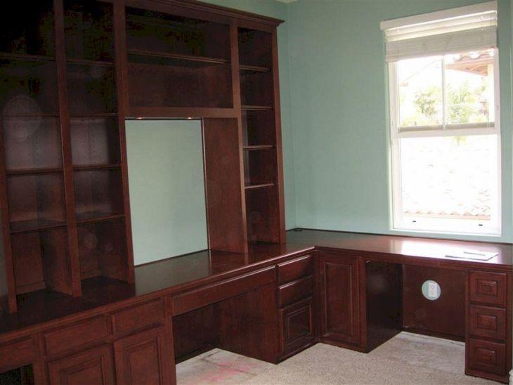 Home Office Built in Desk Ideas