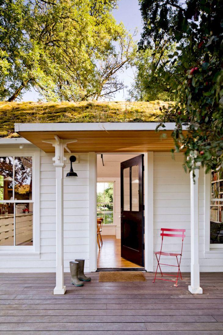 Interior Tiny House with Porch