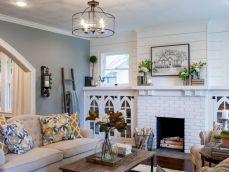 Joanna Gaines Fixer Upper Living Room Idea